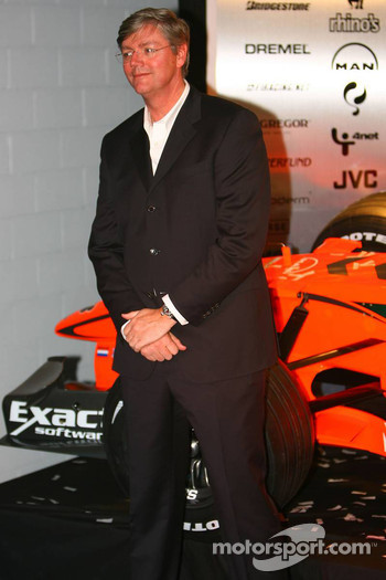 Victor Muller, Chief Executive Officer of Spyker Cars N.V. and Spyker F1 Team