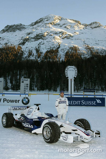 Nick Heidfeld with the BMW Sauber F1