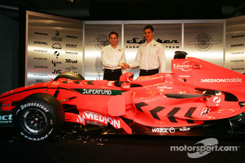 Christijan Albers and Adrian Sutil