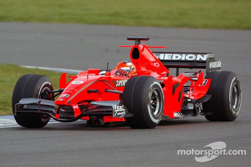 Christijan Albers, Spyker-Ferrari F8-VII