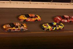 Kurt Busch, Kevin Harvick, Kyle Busch, Dale Earnhardt Jr.
