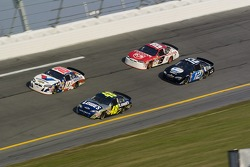Jimmie Johnson, Scott Riggs, Elliott Sadler and Ryan Newman