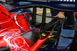 Scuderia Toro Rosso STR02 rear detail