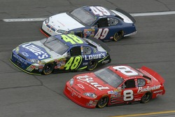 Dale Earnhardt Jr., Jimmie Johnson, Mike Bliss