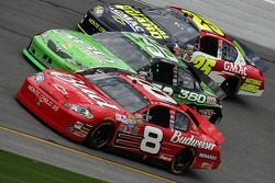 Dale Earnhardt Jr., Jeremy Mayfield and Casey Mears