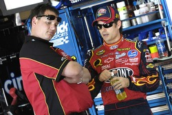 Jeff Gordon with crew chief Steve Letarte