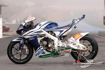 Team Gresini: the Gresini Honda RC212V of Marco Melandri