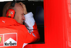 David Lloyd, Scuderia Ferrari, Race Operations Manager