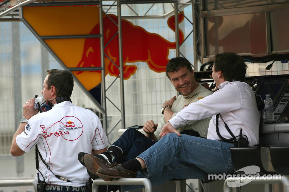 David Coulthard, Red Bull Racing, Christian Horner, Red Bull Racing, Sporting Director