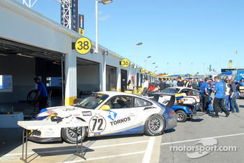 GT garages begin quieting down post-race