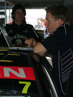 Checking data from the # 7 car