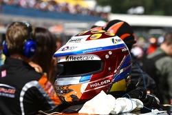 Garth Tander's helmet