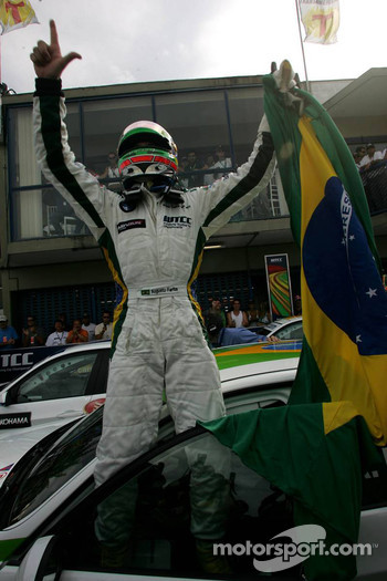 Winner Augusto Farfus, BMW Team Germany, BMW 320si WTCC