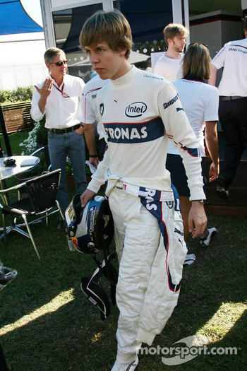 Sebastian Vettel, Test Driver, BMW Sauber F1 Team