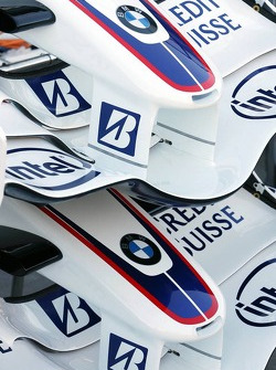 BMW Sauber F1 Team, Front wings