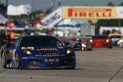 #24 JMB Ferrari 430 GT: Ben Aucott, Joe Macari, Rob Wilson, Ben Aucott