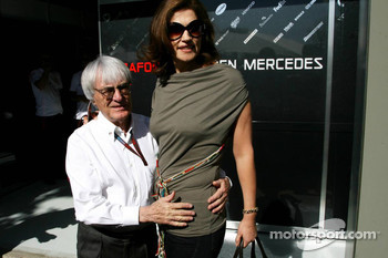 Bernie Ecclestone and Slavica Ecclestone, Wife to Bernie Ecclestone