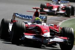 Ralf Schumacher, Toyota Racing, Jarno Trulli, Toyota Racing