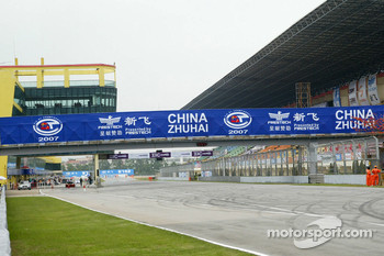 Zhuhai International Circuit ambiance