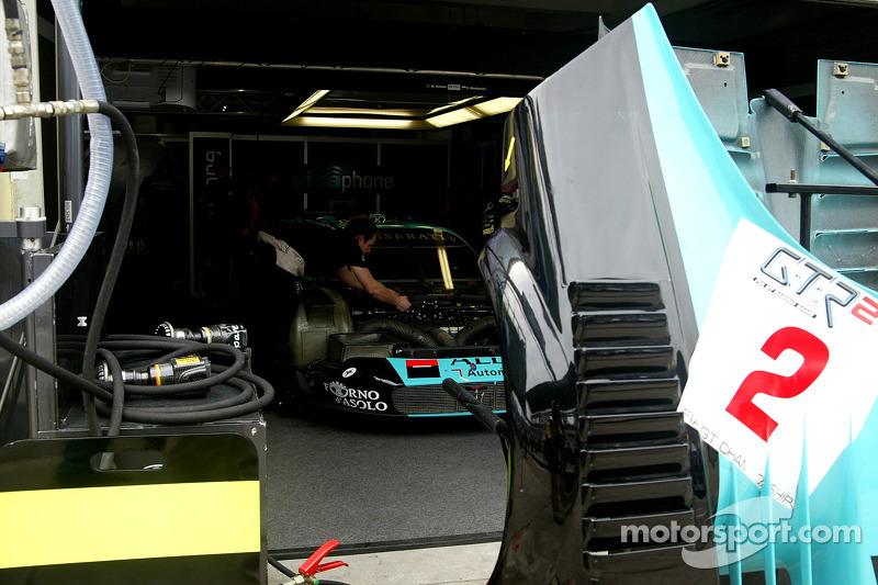 Vitaphone Racing Team pit area