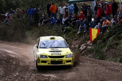 Igor Sokolov and Vasily Mirkotan, Mitsubishi Lancer Evolution IX