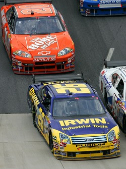 Jamie McMurray and Tony Stewart