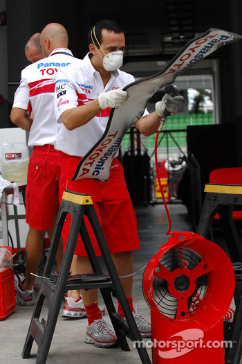 Toyota F1 Team, personnel