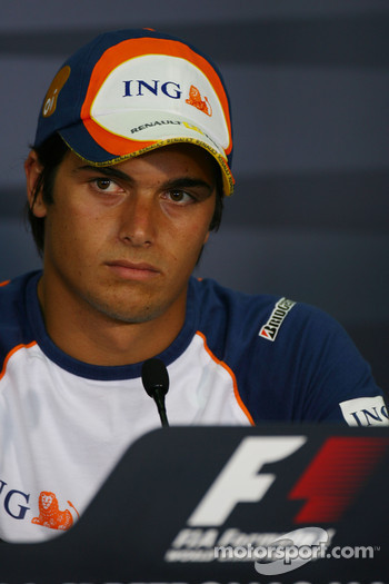 FIA press conference: Nelson A. Piquet, Test Driver, Renault F1 Team