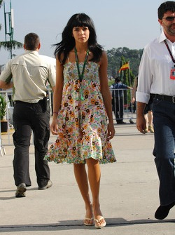 Raquel Rosario Girlfriend of Fernando Alonso