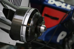 BMW Sauber F1 Team, technical, front brake disc