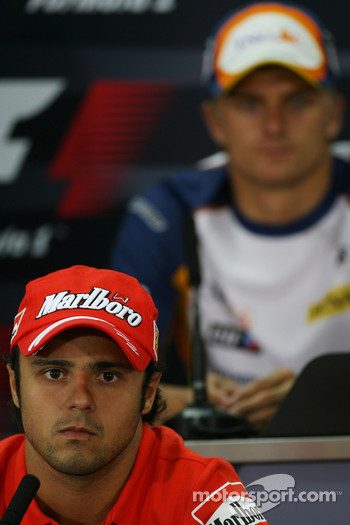 FIA press conference: Felipe Massa, Scuderia Ferrari