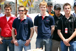 Robbie Kerr, Driver of A1Team Great Britain and Oliver Turvey, Driver of A1 Team Great Britain