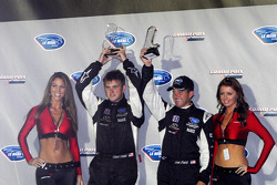 P1 podium: third place Clint Field and Jon Field
