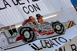A Fernando Alonso banner