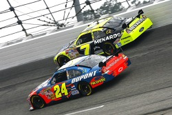 Jeff Gordon and Robby Gordon