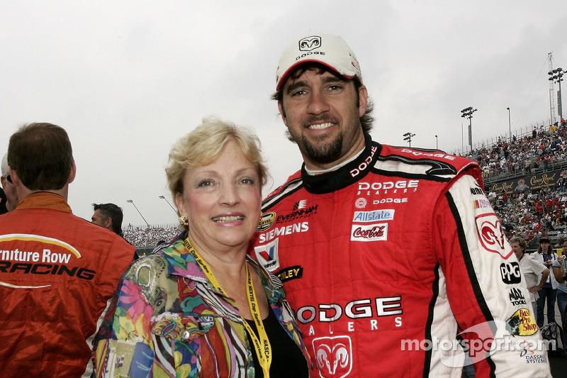 Photo of Elliott Sadler & his  Mother  Bell Sadler