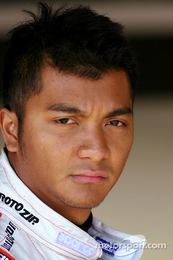 Fairuz Fauzy, Test Driver, Spyker F1 Team