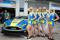 The charming Aston Martin Racing girls