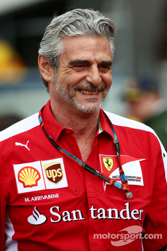 Maurizio Arrivabene Ferrari Team Principal At Monaco Gp