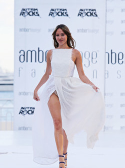 Jessica Button, wife of Jenson Button, McLaren, at the Amber Lounge Fashion Show