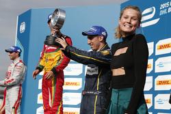 Third place Sébastien Buemi, e.dams-Renault