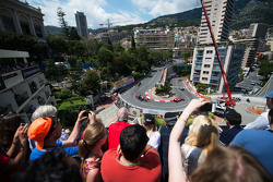 Lewis Hamilton, Mercedes AMG F1 W06 leads the race