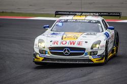 #22 Rowe Racing Mercedes-Benz SLS AMG GT3: Maro Engel, Jan Seyffarth, Renger van der Zande, Thomas Jäger