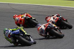 Andrea Iannone, Ducati Team and Marc Marquez and Dani Pedrosa, Repsol Honda Team