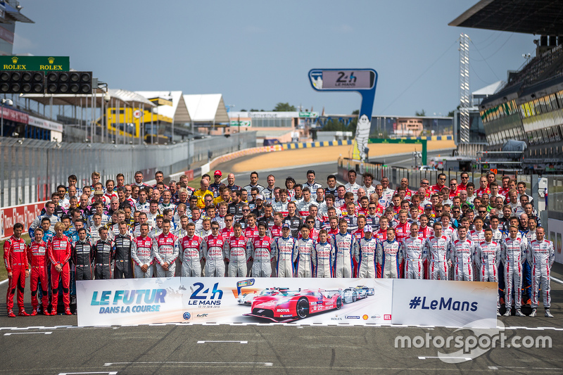 2015 24 hours of Le Mans driver photo