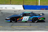 Matt Brabham tests a Late Model