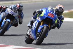 Maverick Viñales, Team Suzuki MotoGP and Scott Redding, Marc VDS Racing Honda