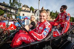 #13 Rebellion Racing Rebellion R-One: Dominik Kraihamer, Daniel Abt
