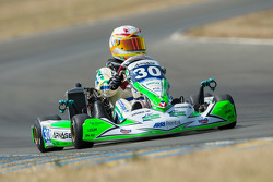 #30 Arnage Team Racing Kart: Tony Blin, Olivier Paris, Alizée Guilmain, Simon Broad