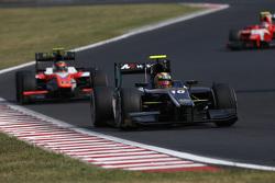 Artem Markelov, RUSSIAN TIME leads Daniel De Jong, MP Motorsport
